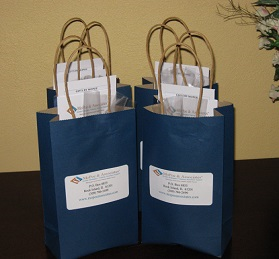 Customized Gift Bags for Hotel Conference & Special Events - Gifts by MoPoe