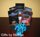 Ghirardelli Gourmet Chocolate Squares Gift Basket