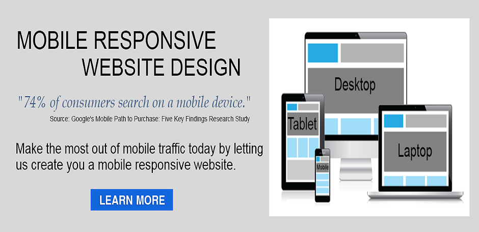 Mobile Responsive Web Design - Go Mobile Slide