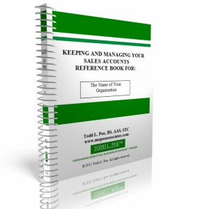 Keeping and Managing Your Sales Accounts Reference Book