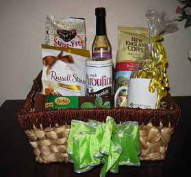 Specialty themed gift basket - Gifts by MoPoe