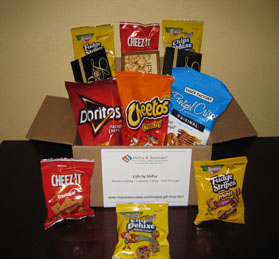 Snack Care Package Gift - Gifts by MoPoe