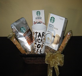 Starbucks Coffee & Hot Cocoa Gift Basket